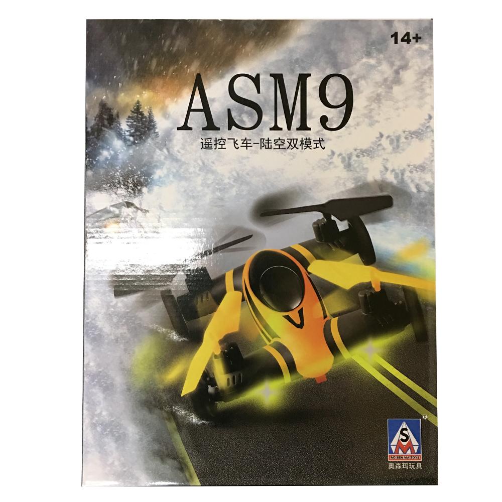 Xe Bay Điều Khiển UFO 4 Cánh ASM9 Flying Car Vừa Bay và Chạy