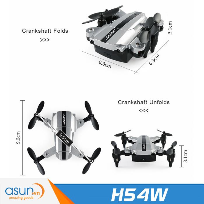 Máy Bay Điều Khiển Từ Xa JJRC E-Fly H54W Camera Wifi Mini