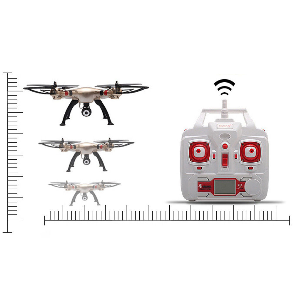 Máy Bay UFO 4 Cánh Điều Khiển Syma X8HW Wifi FPV Quadcopter