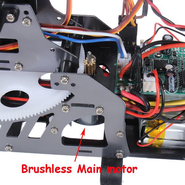 Máy bay điều khiển 4 kênh v913 Brushless