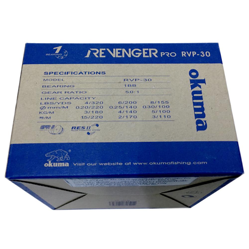 Máy Câu Cá Okuma Revenger Pro RVP30 - RVP30