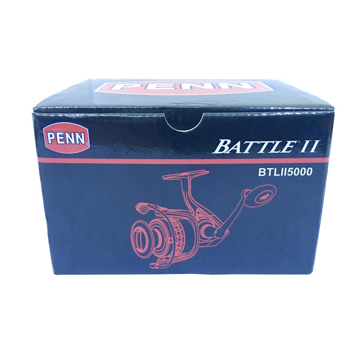 Máy Câu Cá Penn Battle II 5000 BH 1 Năm Chính Hãng