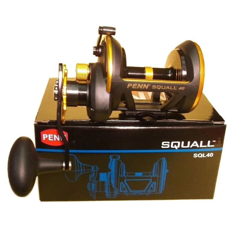 Máy Câu Cá Penn Squall 40 SQL40 BH 1 Năm Chính Hãng