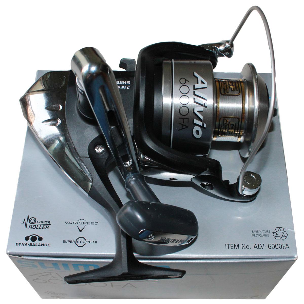 Máy câu cá Shimano Alivio FA ALV 6000FA BH 1 Năm Chính Hãng