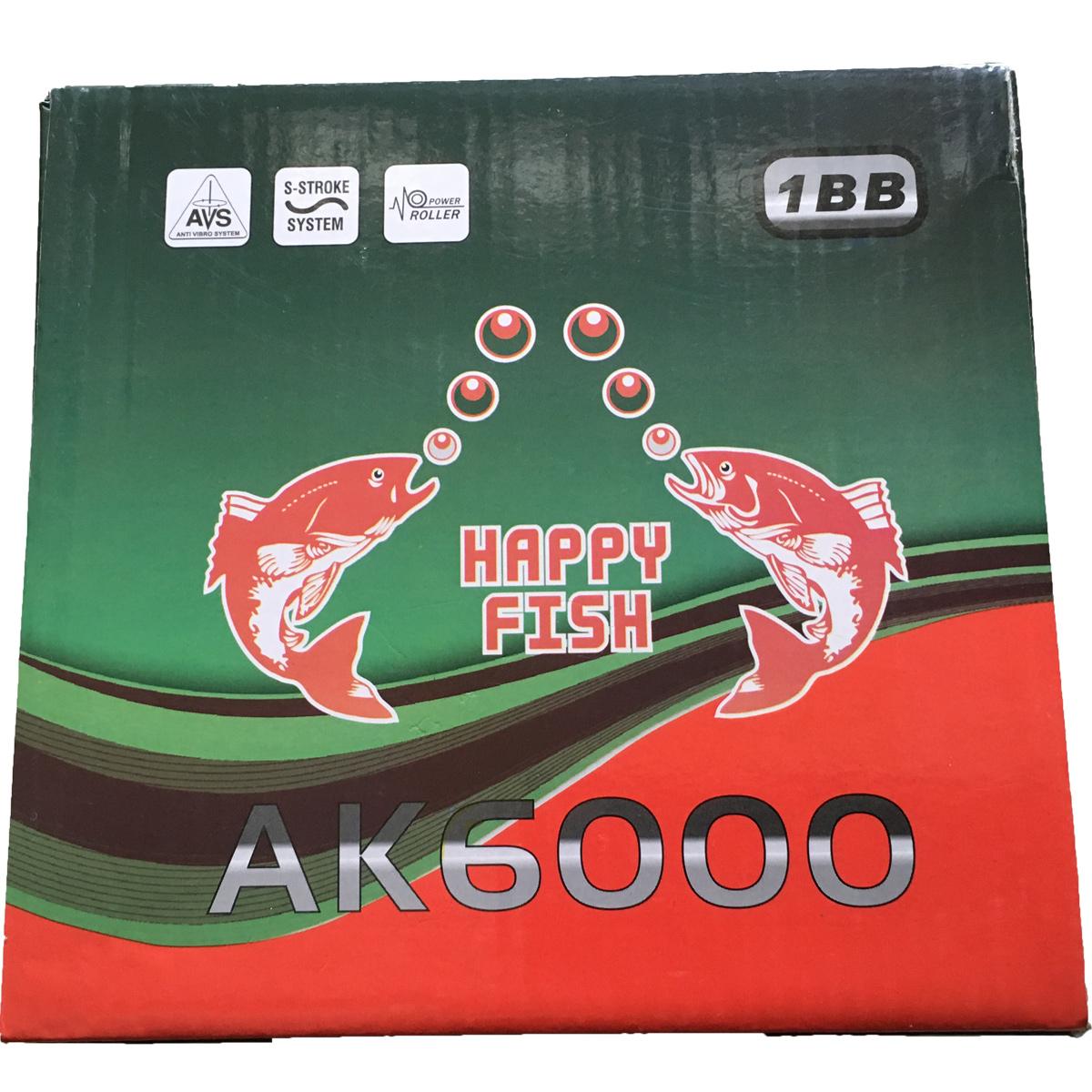 Máy Câu Happy Fish AK 6000 BH 1 Tháng