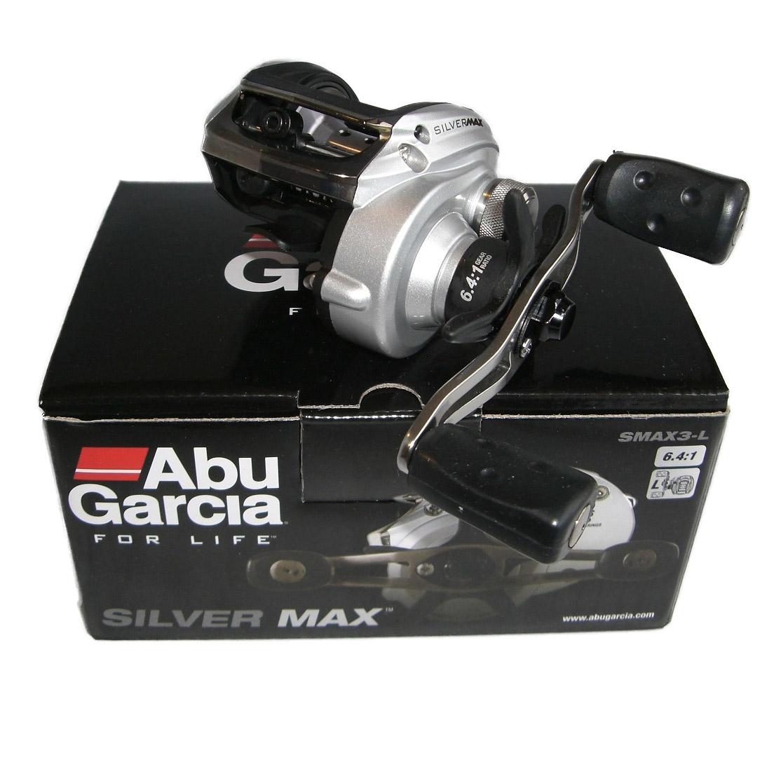 Máy Câu Ngang Abu Garcia Silver Max SMAX3-L BH 1 Năm