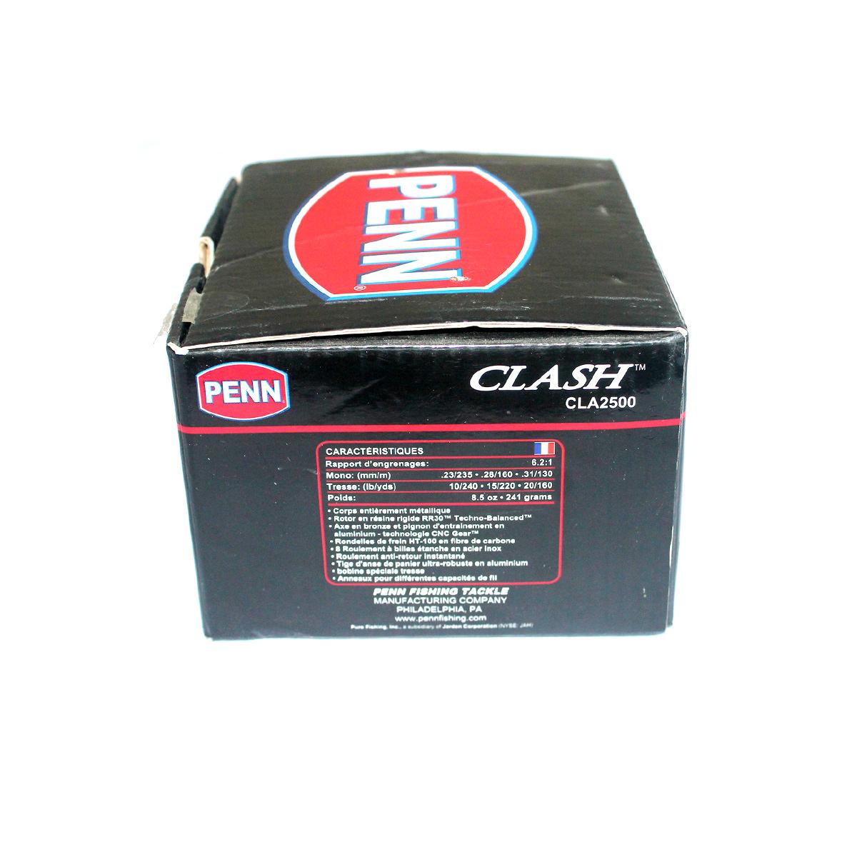 Máy Câu Penn Clash 2500 - Chính Hãng Bảo Hành 12 tháng