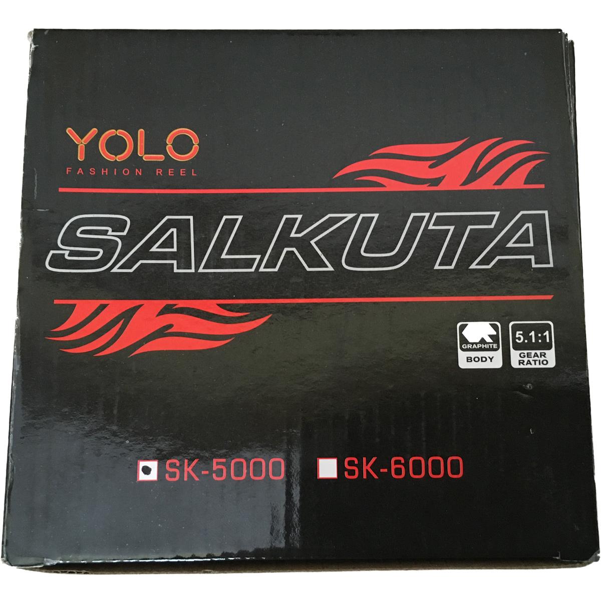 Máy Câu Cá Yolo Salkuta SK 5000 Chính Hãng Bảo Hành 3 Tháng
