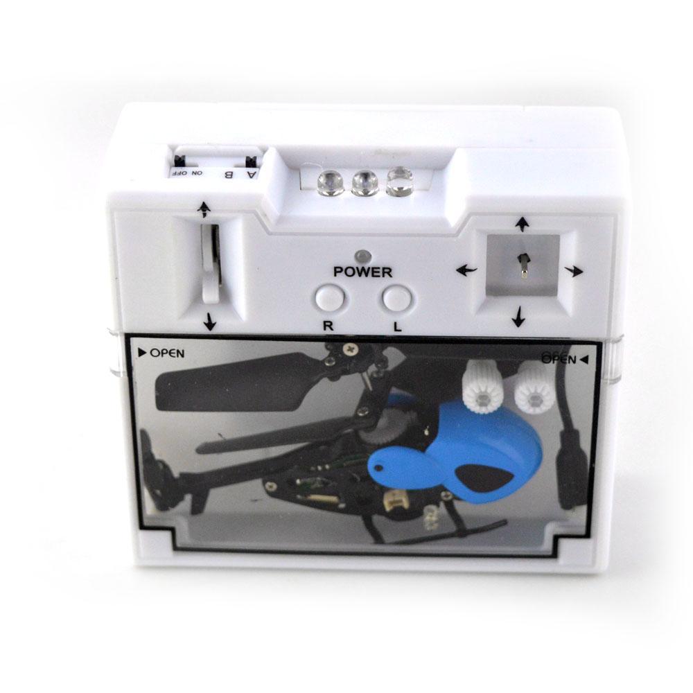 Máy Bay Mini điều khiển 3.5 kênh QS5010 màu xanh