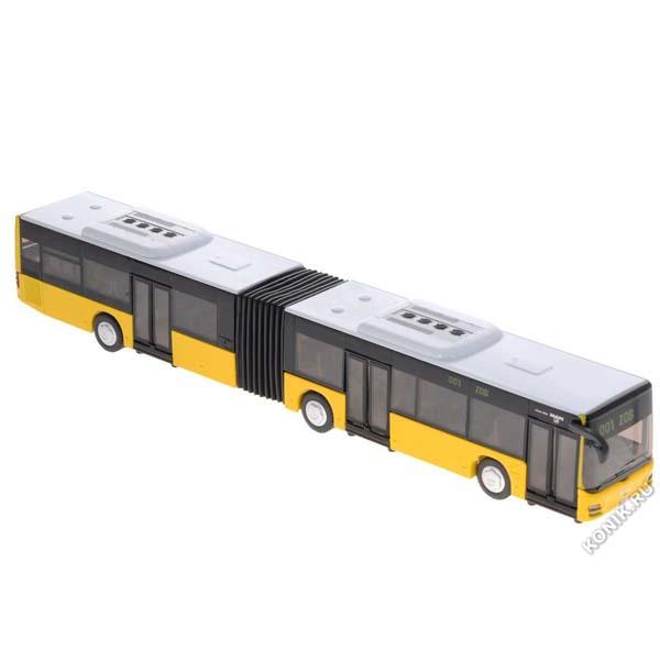 Đồ Chơi Mô Hình Xe Xe Buýt Khớp Nối Công Cộng SIKU3736