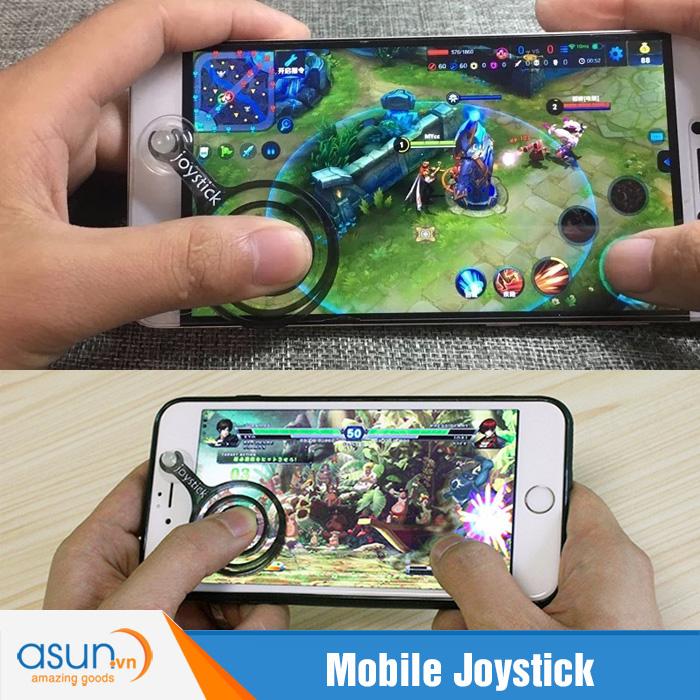 Mobile Joystick Fling Hỗ Trợ Chơi Game IOS và Android