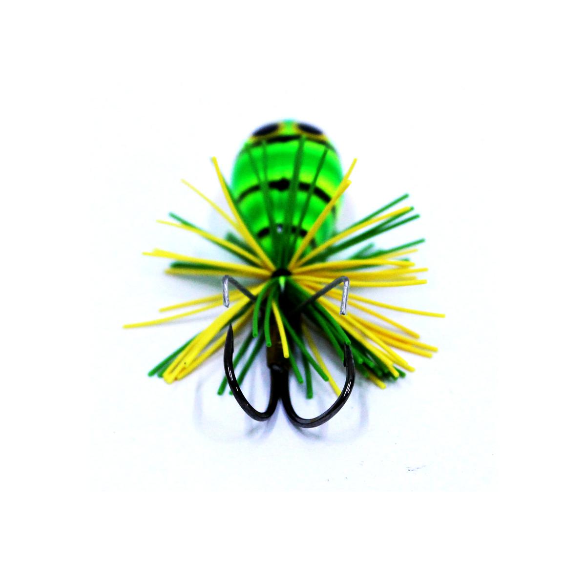 Mồi Câu Ếch Giả Lures Factory Nano Jump Green - Xanh Lá