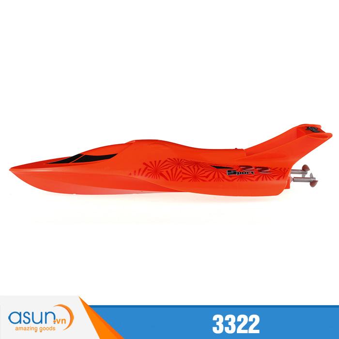 Tàu Đua Cano Điều Khiển Từ Xa 3322 Racing Boat 2.4Ghz Cam