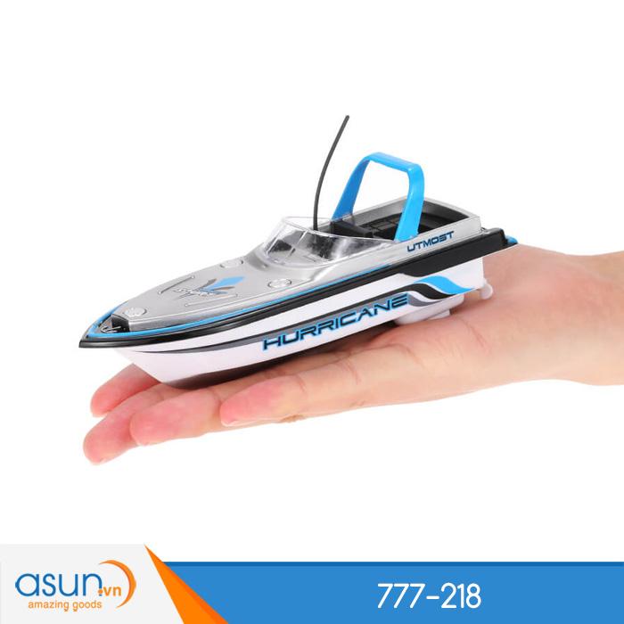 Tàu Cano Điều Khiển Từ Xa Mini Boat 777-218 Xanh Dương