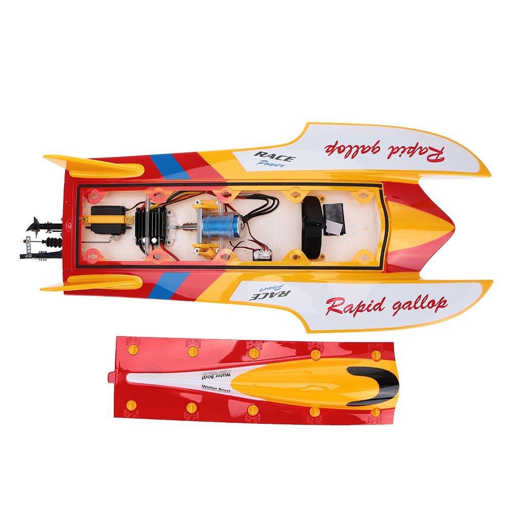 Tàu Đua Điều Khiển Từ Xa WLtoys WL913 Brushless 50km Boat High Speed Racing RC