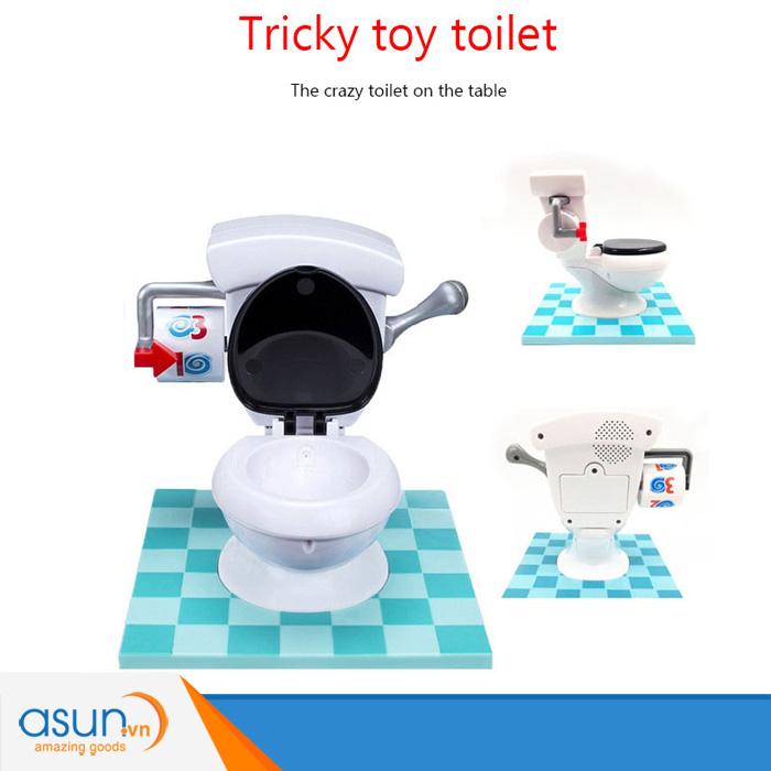Trò Chơi Thử Thách Toilet Phun Nước Toilet Trouble Challenge 4402