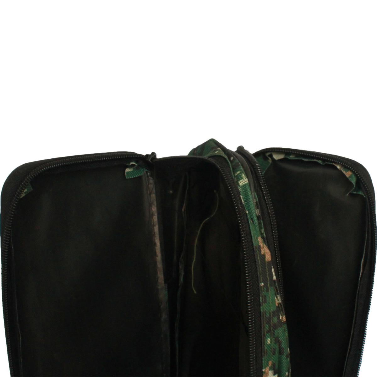Túi Vải Đựng Cần Hai Ngăn Rằn Ri 1m40