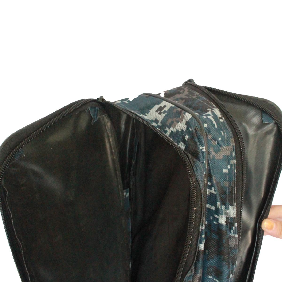 Túi Vải Đựng Cần Hai Ngăn Rằn Ri 1m30