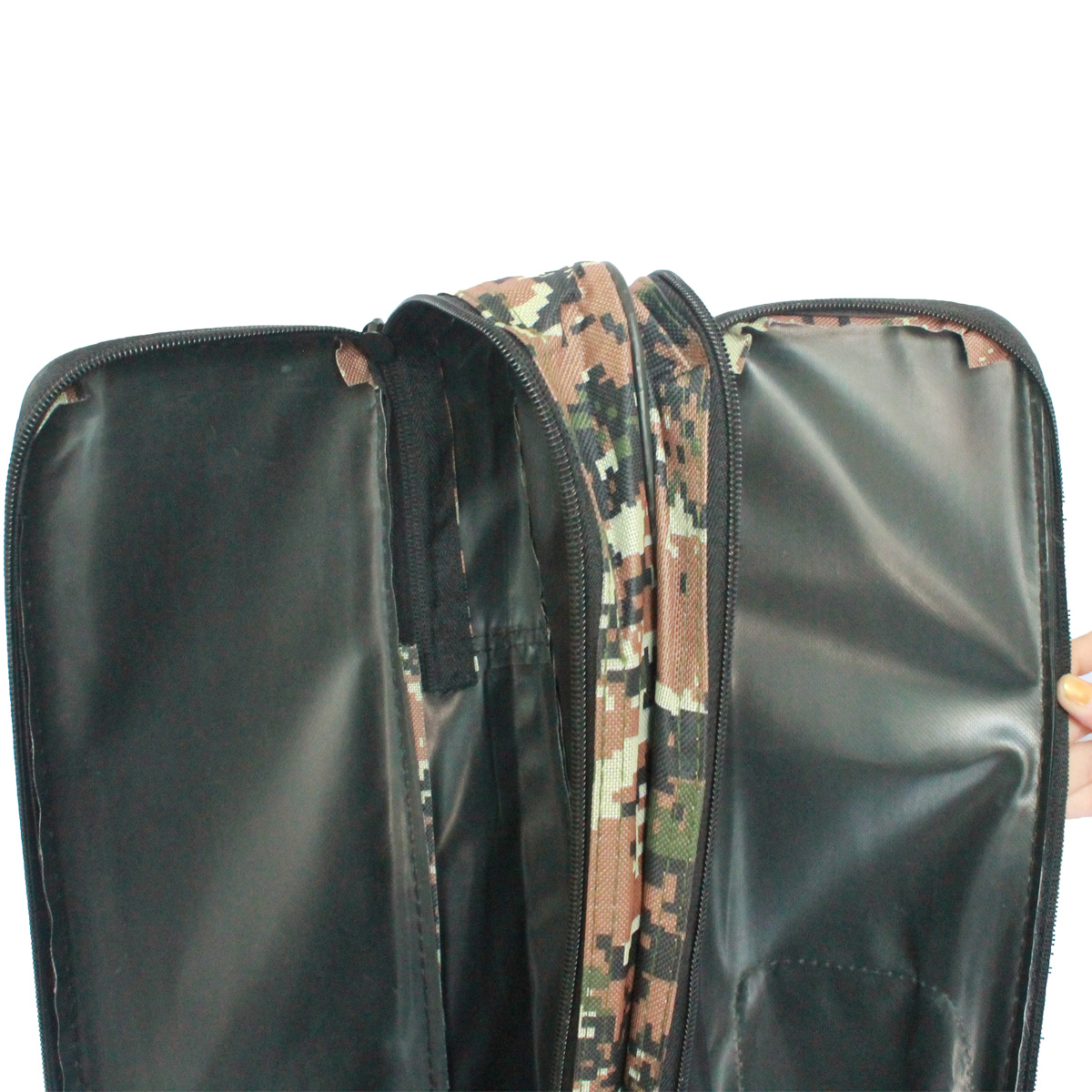 Túi Vải Đựng Cần Hai Ngăn Rằn Ri 1m50