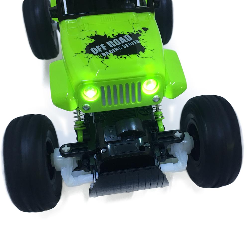 Xe Địa Hình Rock Crawler 0136 4WD Có Đèn Led Âm Thanh