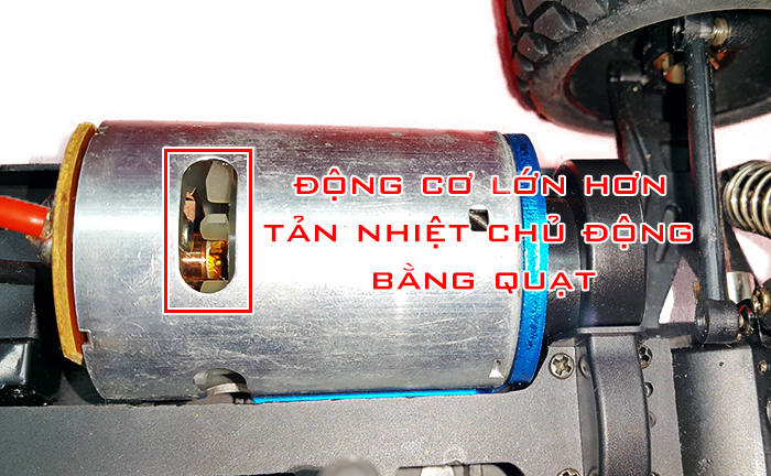 Xe Điều Khiển Từ Xa Off Road Buggy Wltoys A959b Brushed 70km