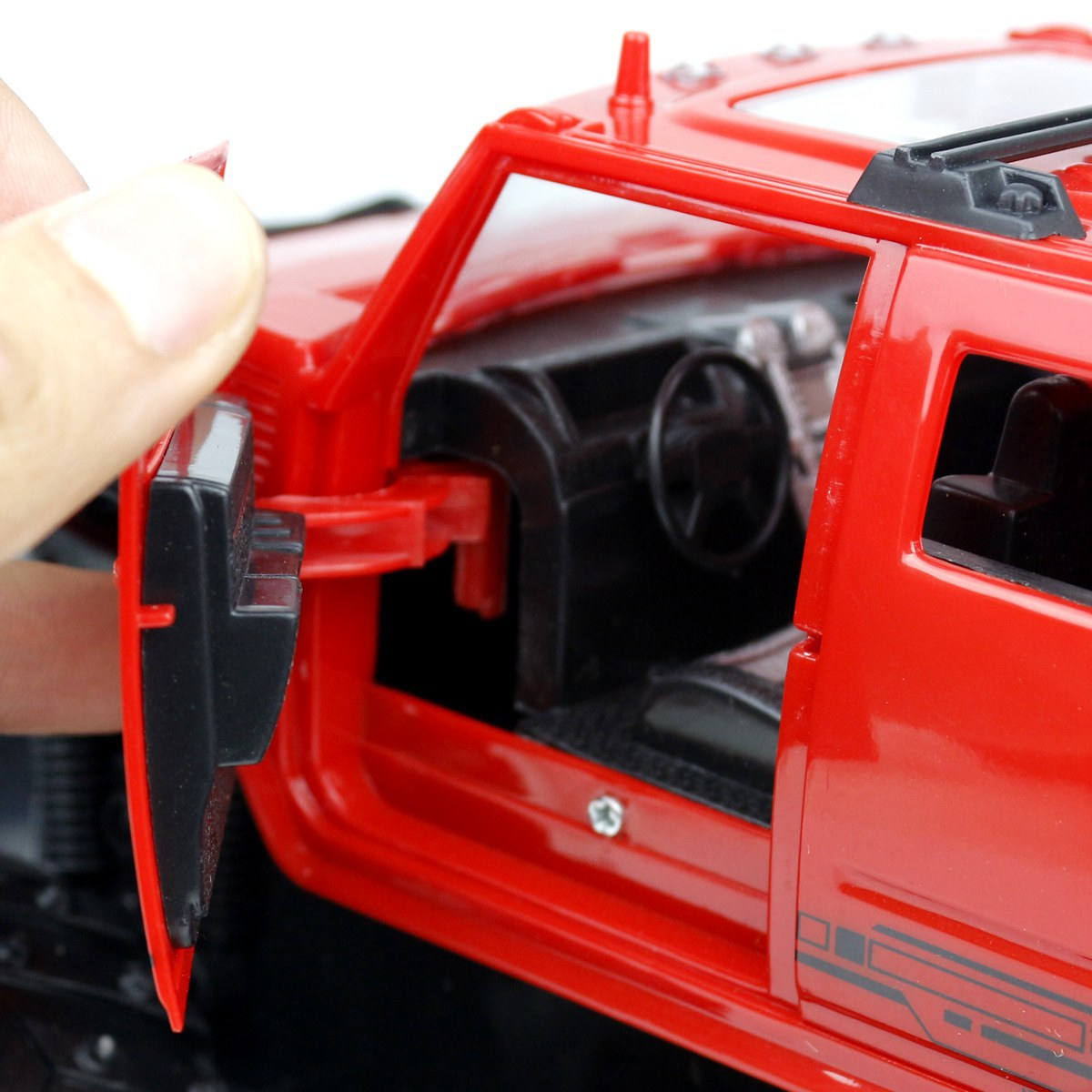 Xe Điều Khiển Từ Xa 23613BK-4 Màu Đỏ