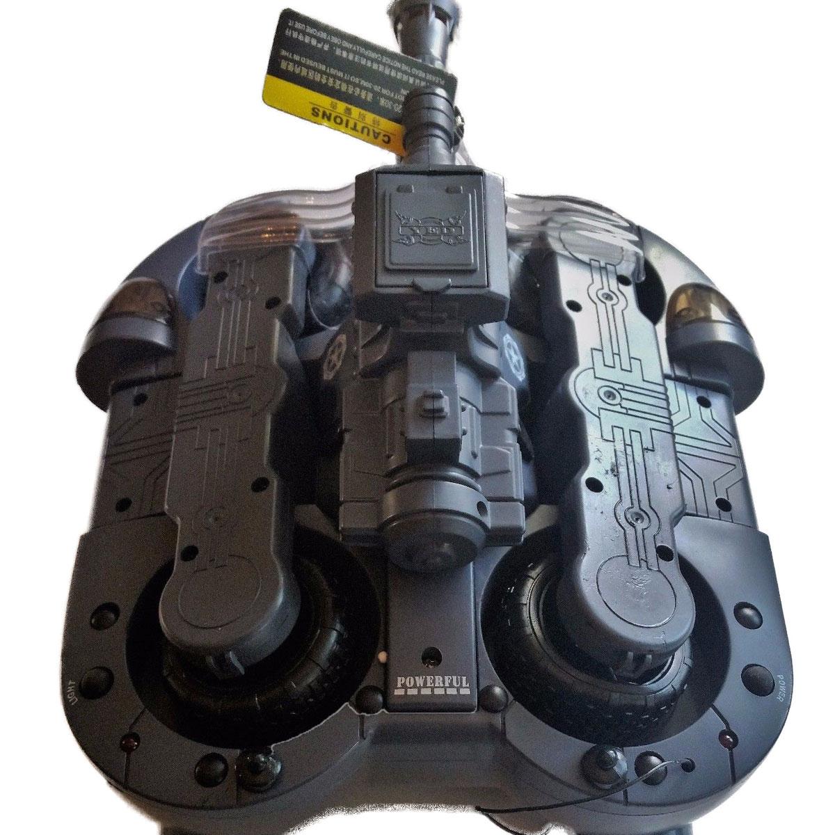 Xe Điều Khiển Chạy Dưới Nước Amphibious Chariot Tank 24883 2.4Ghz