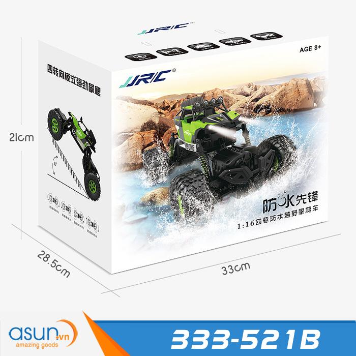 Xe Điều Khiển Chống Nước Rock Crawler JJRC 333-521B 4 chế độ