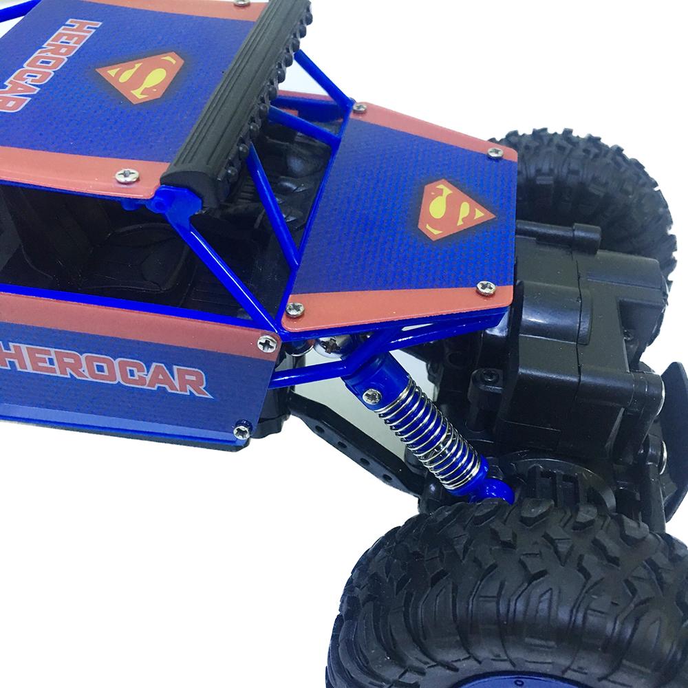 Xe Địa Hình Rock Crawler Super S P1805 4WD Rally Car Tỉ Lệ 1-18