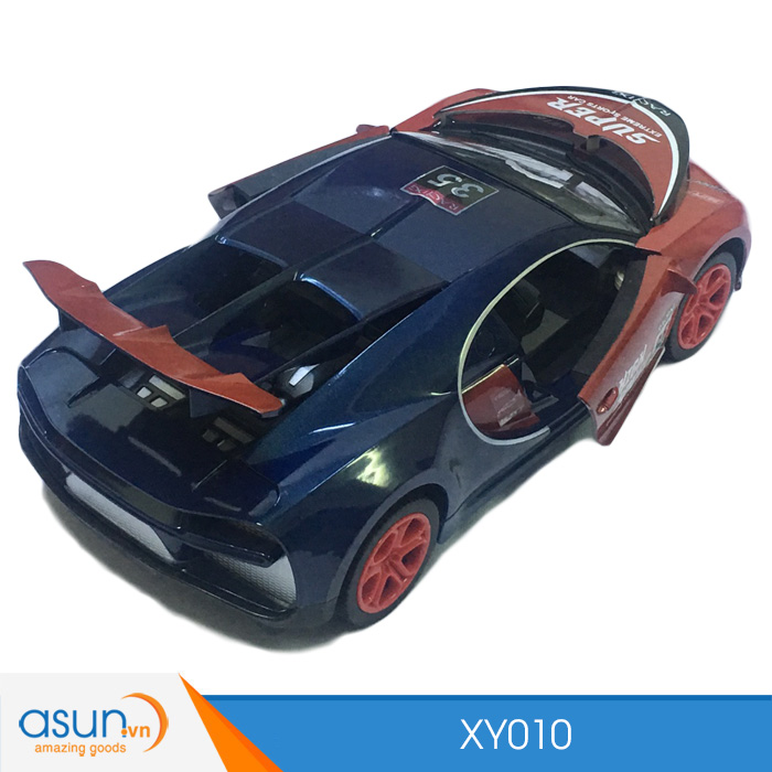Xe Điều Khiển Từ Xa Đóng Mở Cửa Mở Mui Bugatti XY010 1:14
