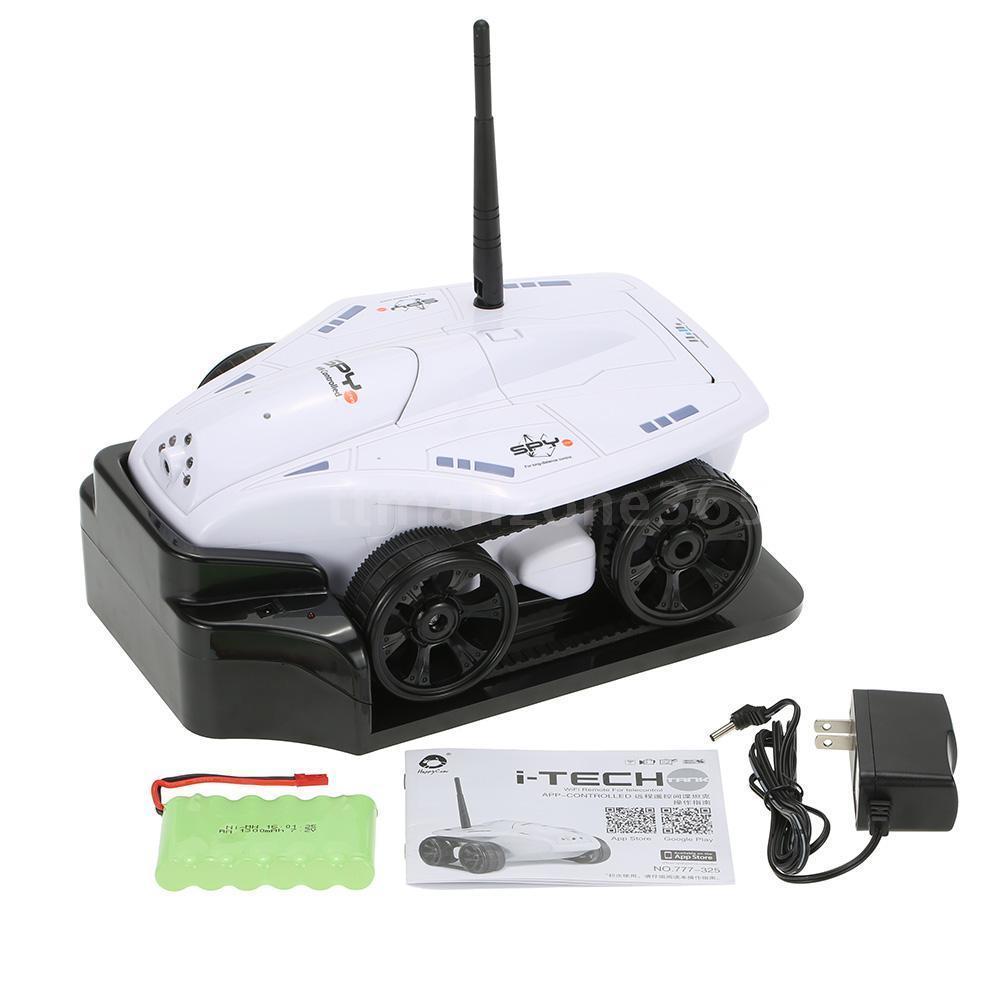 Xe Điều Khiển Từ Xa I-Tech Tank Camera 777-325 HappyCow