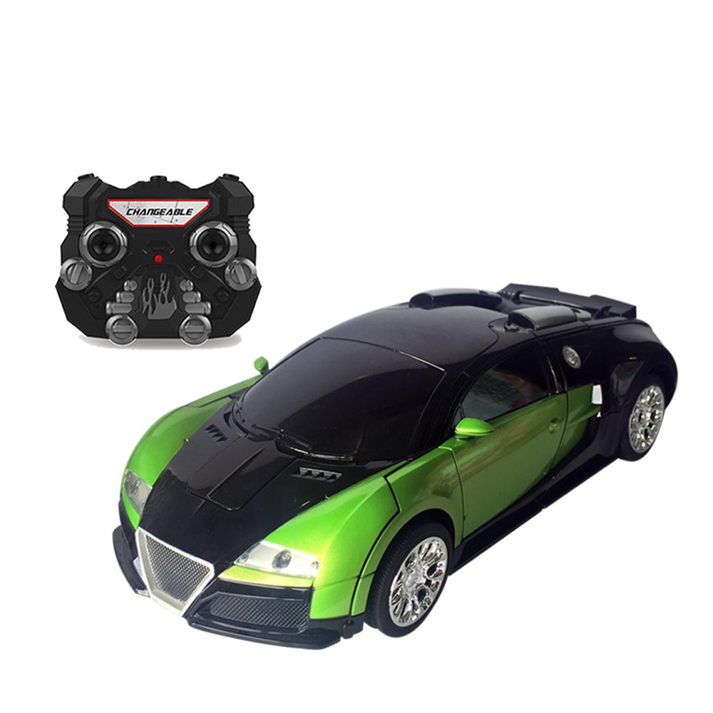 Xe Điều Khiển Robot Biến Hình Bugatti TT656