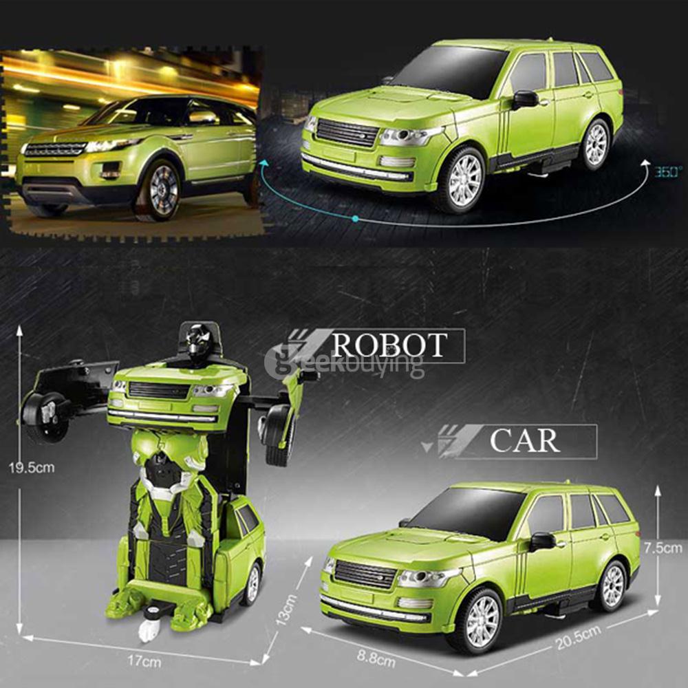 Xe Điều Khiển Robot Biến Hình Jia Qi TT651