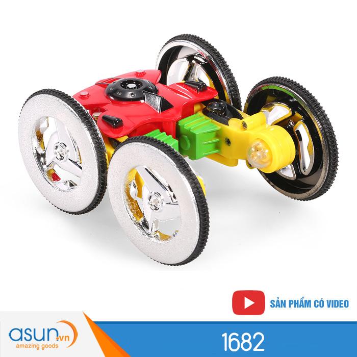 Xe Điều Khiển Từ Xa Mini 1682 Turbo Spinner Stunt Car