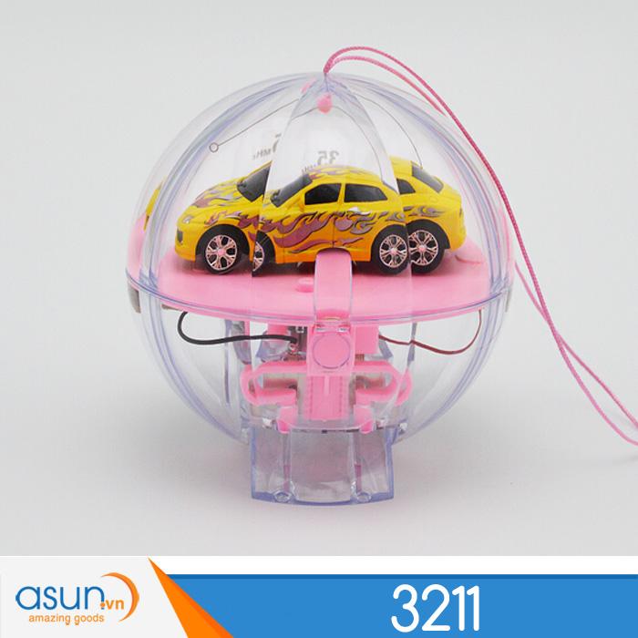 Xe Đua Siêu Mini Điều Khiển 3211 Hình Quả Cầu