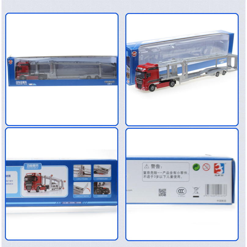 Xe Mô Hình Container Kaidiwei 625043