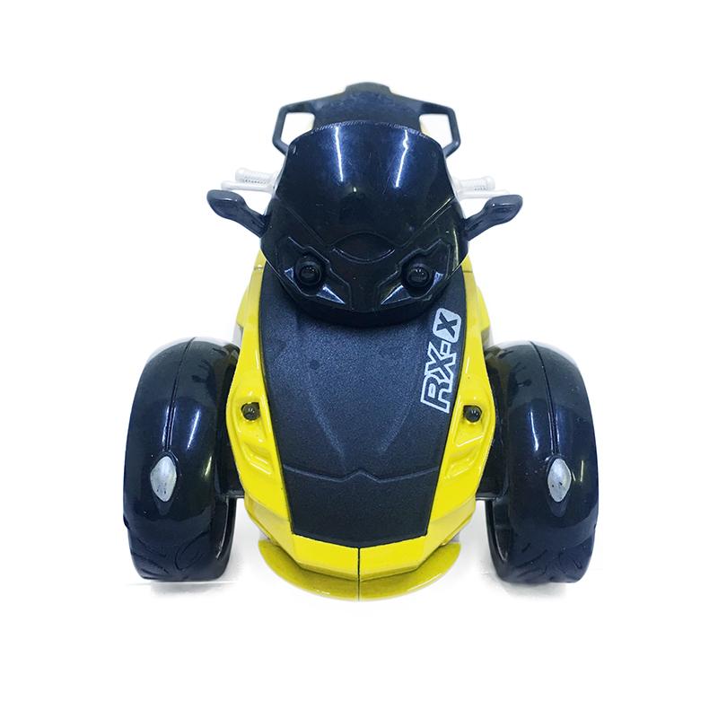 Xe Mô Hình Moto 3 Bánh Chạy Dây Cót Có Đèn 8022