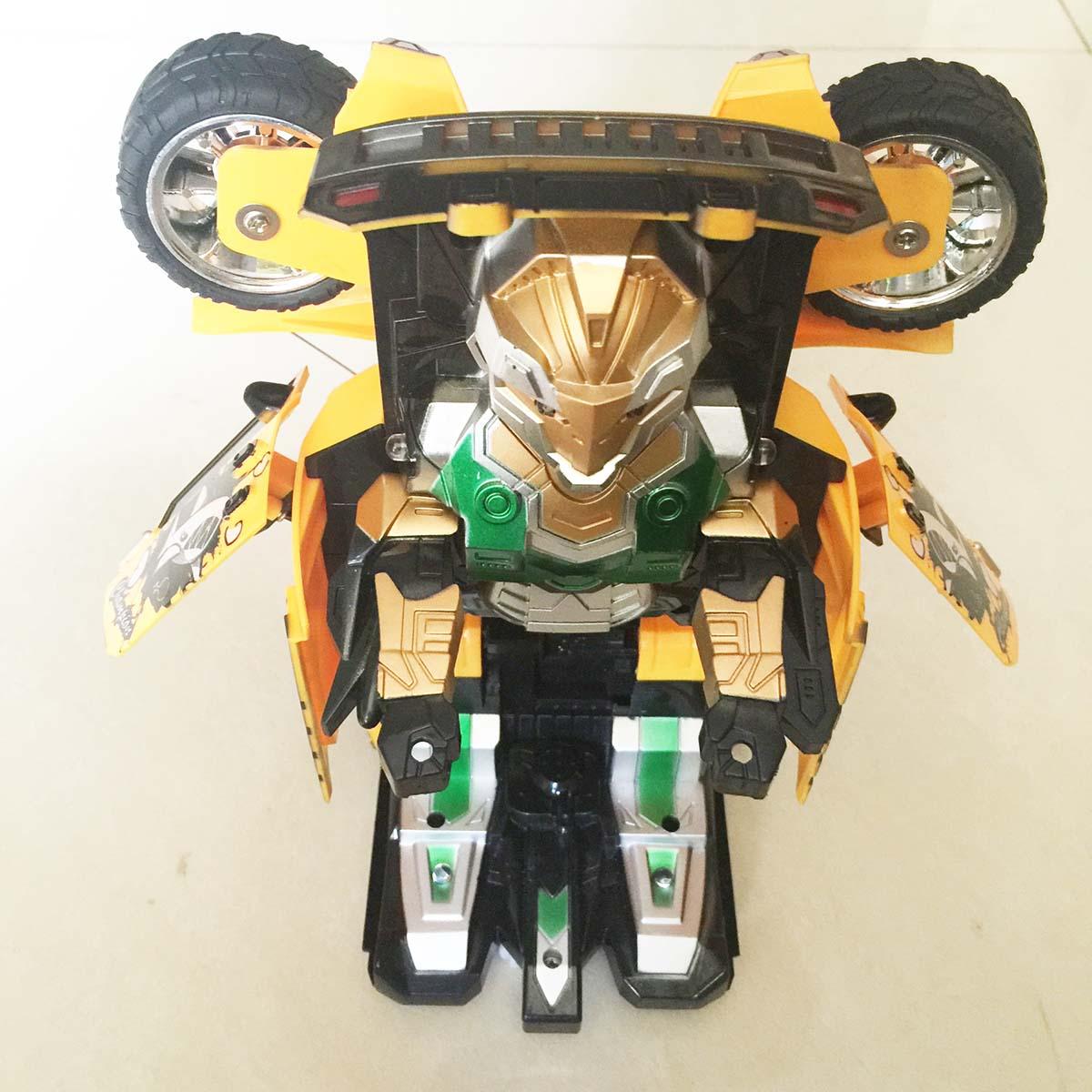 Xe Điều Khiển Robot Biến Hình 329-1 Zegan