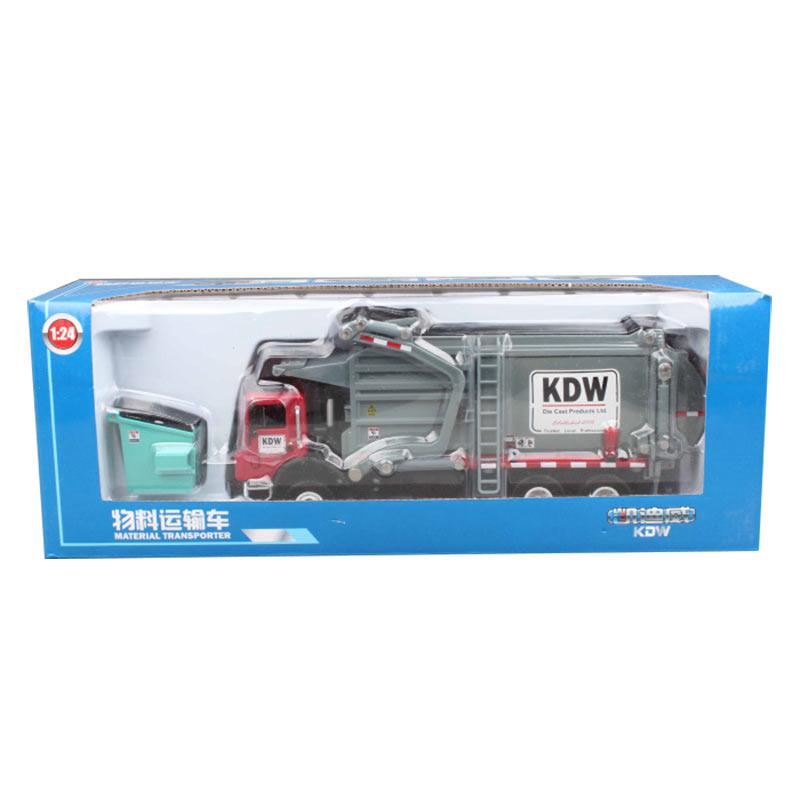 Xe Tải Mô Hình Chở Rác Kaidiwei 620040