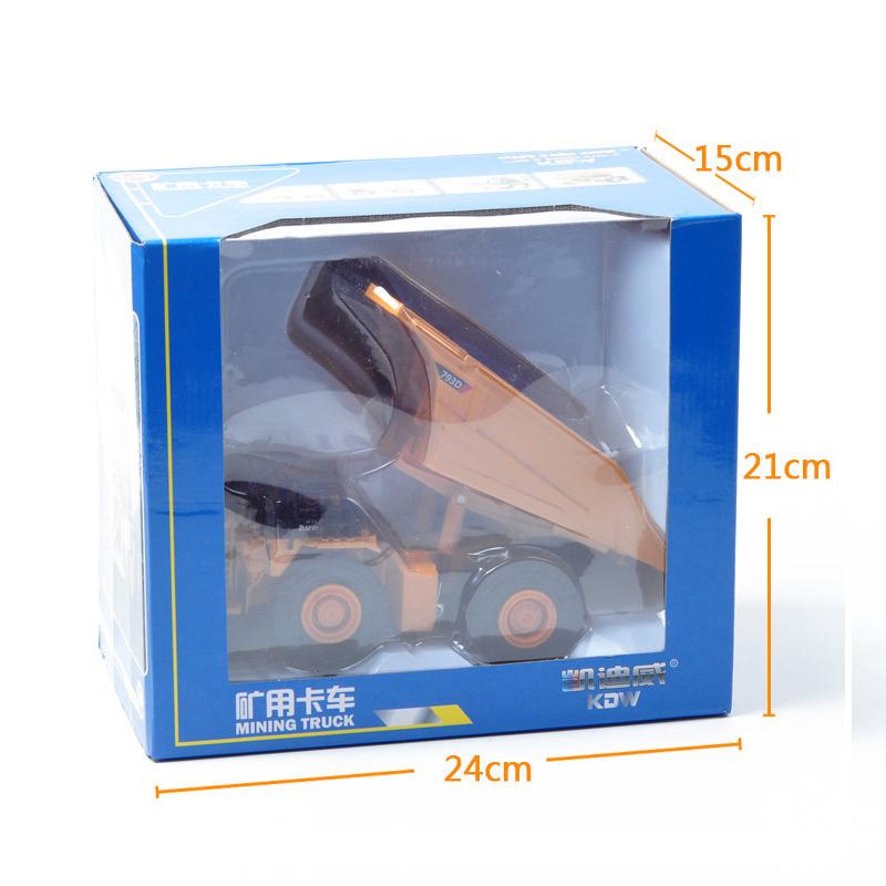 Xe Mô Hình Tải Khai Thác Mỏ Siêu Trọng Kaidiwei 625020