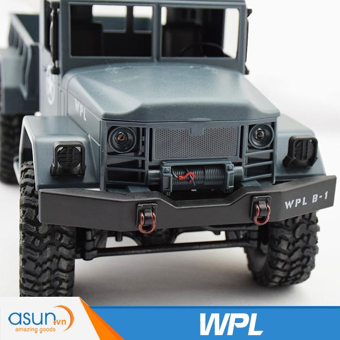 Xe Tải Quân Sự Mỹ Điều Khiển Từ Xa Military WPL 4WD