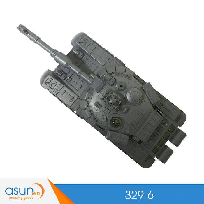 Bộ 2 Xe Tank Điều Khiển Chiến Đấu Từ Xa 329-6 Độc Đáo 2.4Ghz