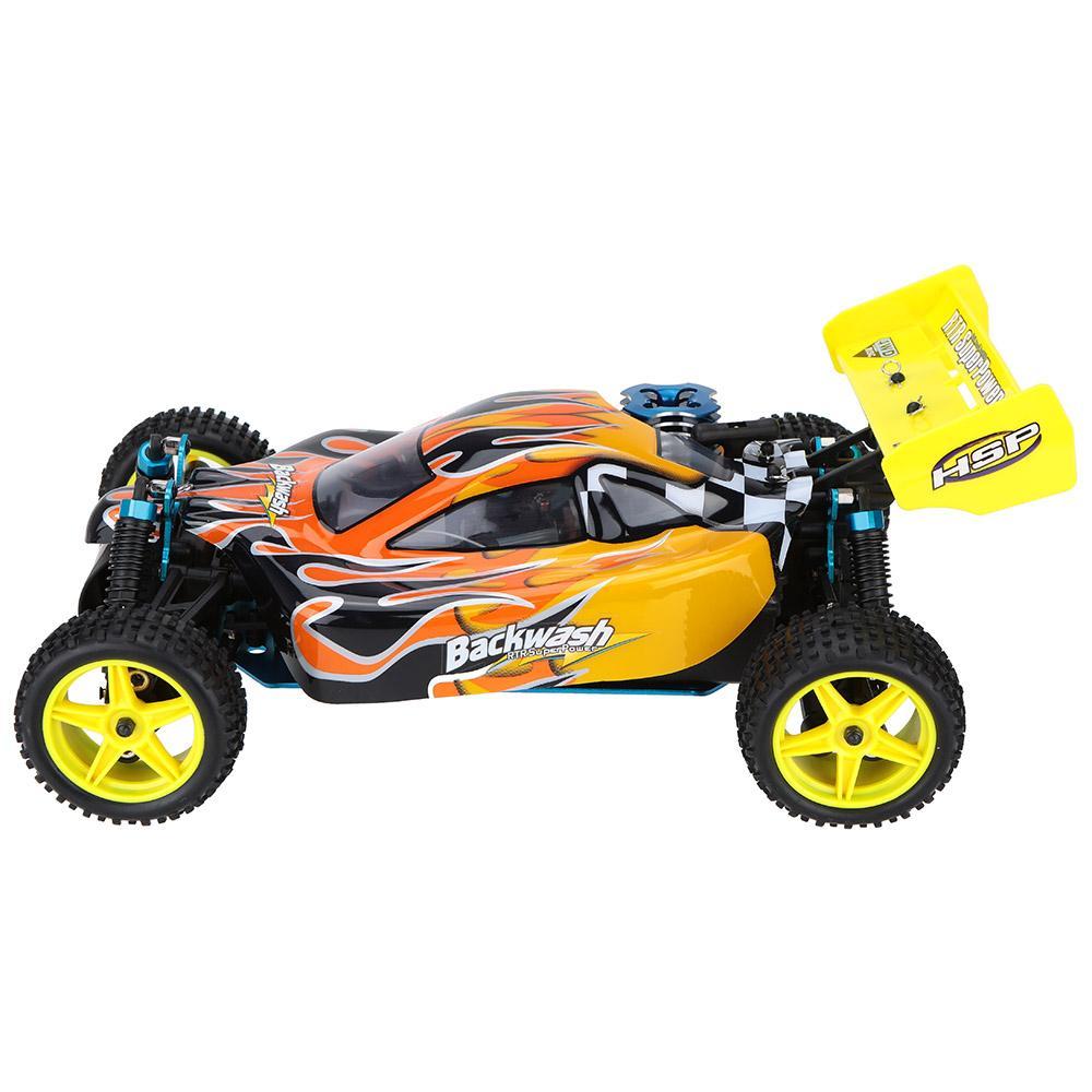 Combo Xe Xăng Nitro Điều Khiển Buggy HSP 1:10 94166 Off Road 4WD