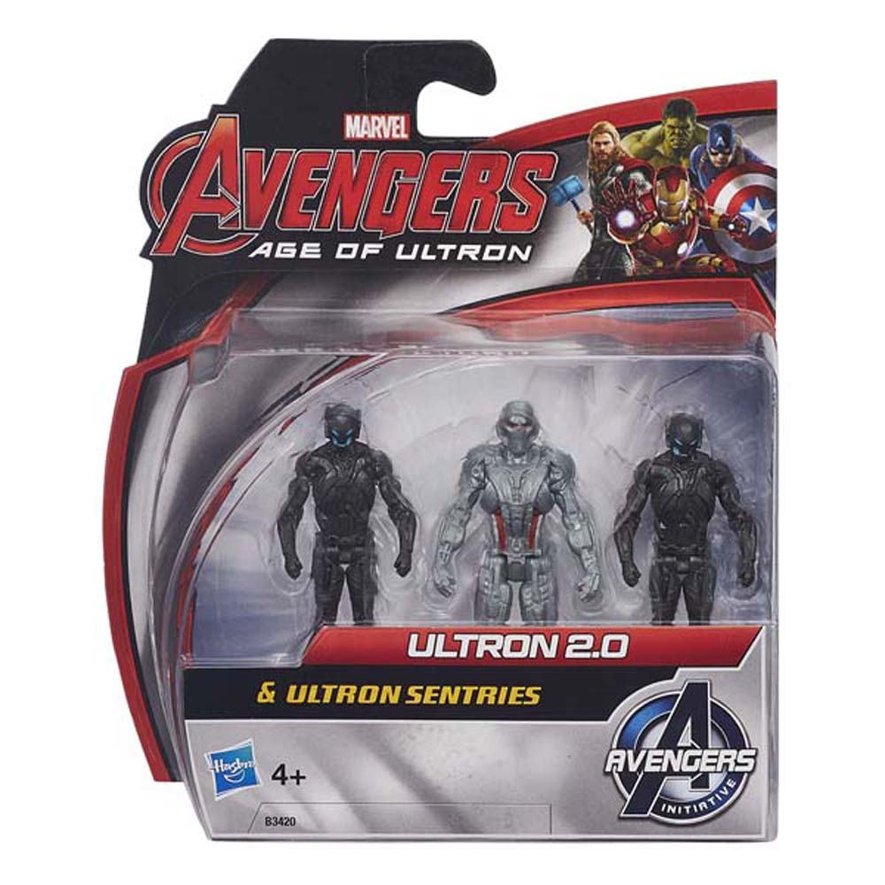 Ultron 2.0 Và Ultron Sentries AVENGERS B3420-B0423