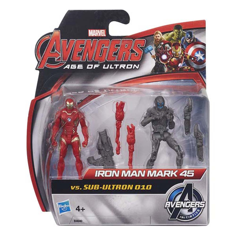 Iron Man Mark 45 Và Sub Ultron 010- AVENGERS B4640-B0423