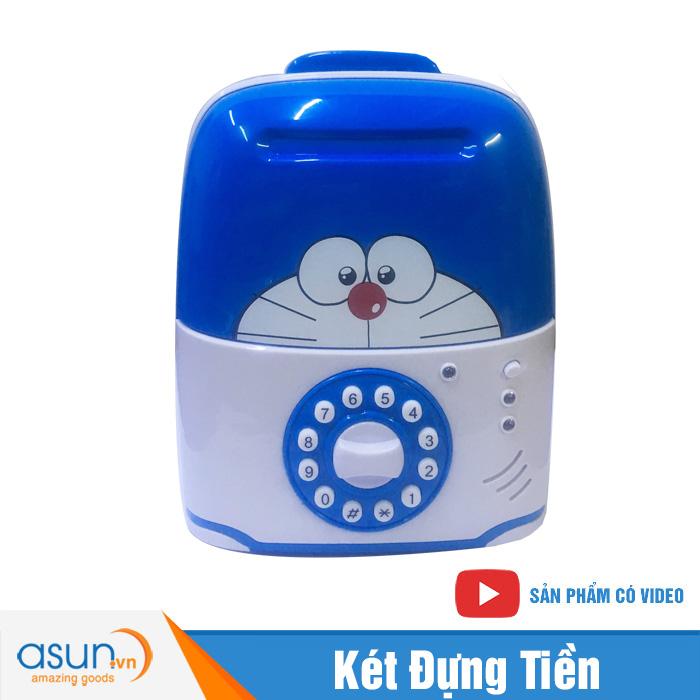 Két Đựng Tiền Mini Vali Hình Doraemon 822