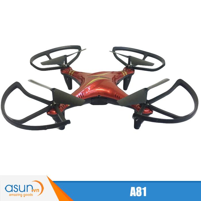 Máy Bay Điều Khiển Từ Xa 4 Cánh A81 Quadcopter Nhào Lộn
