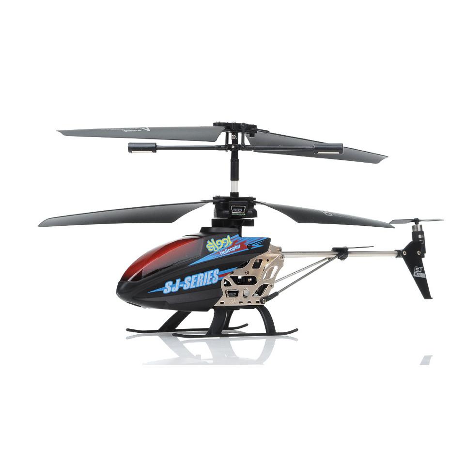 Máy bay trực thăng điều khiển SJ991 Có đèn led chạy chữ Helicopter