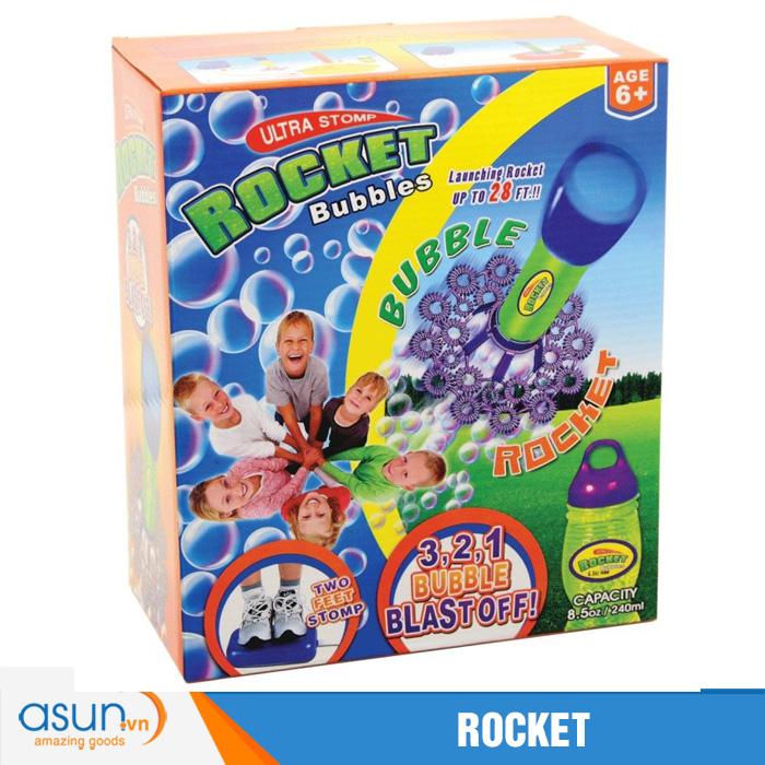 Trò Chơi Tên Lửa Bong Bóng Ultra Stomp Rocket Bubbles