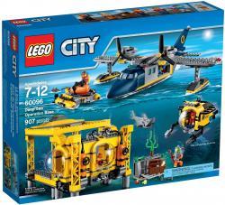 Đồ Chơi Xếp Hình Trạm Đièu Hành Tham Hiểm Đại Dương Thương Hiệu LEGO
